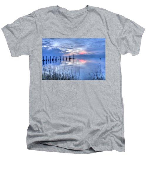 Gulf Reflections Men's V-Neck T-Shirt