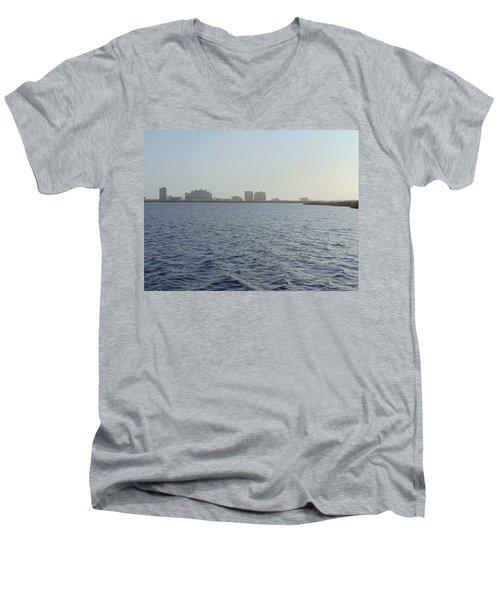 Gulf Shores Men's V-Neck T-Shirt
