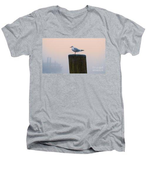 Gull And Fog Men's V-Neck T-Shirt