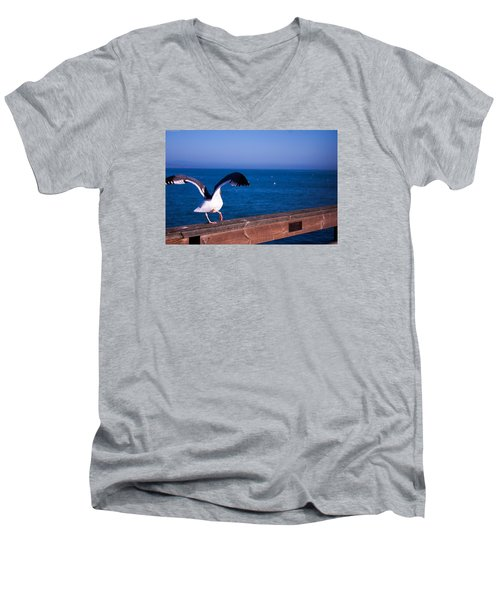 Gull Dance Men's V-Neck T-Shirt