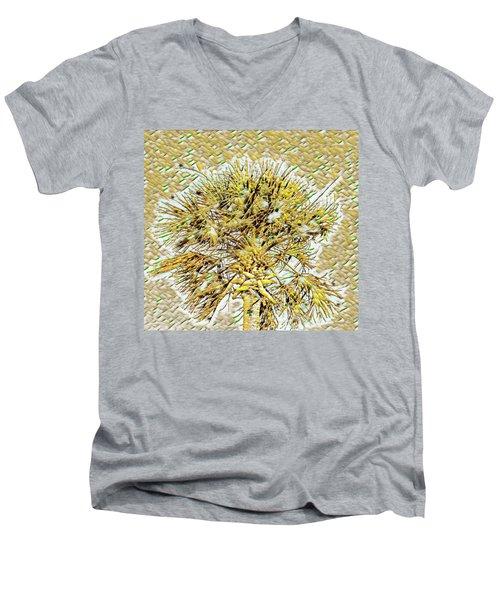 Gullah Palm Men's V-Neck T-Shirt
