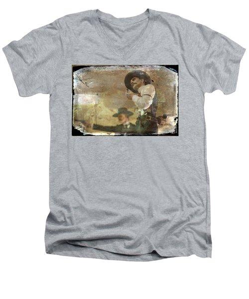 Gunslinger II Doc Holliday Men's V-Neck T-Shirt
