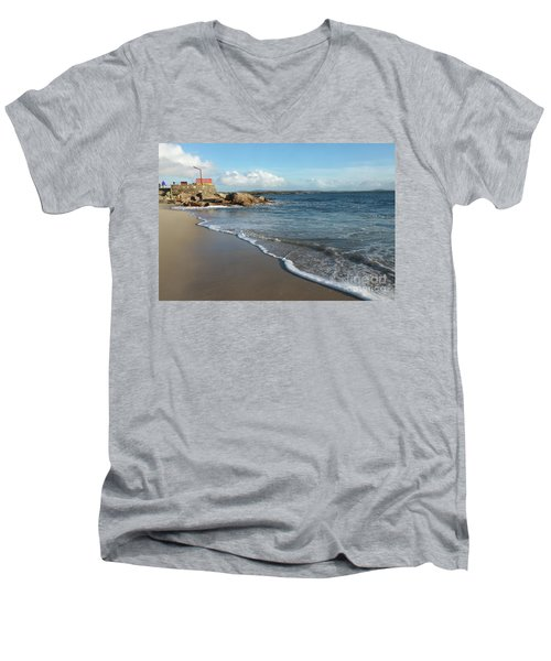 Gurteen Beach Men's V-Neck T-Shirt