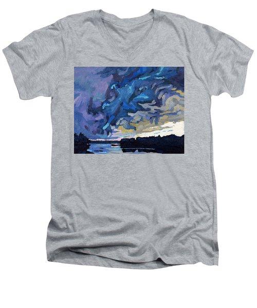 Gust Front Men's V-Neck T-Shirt