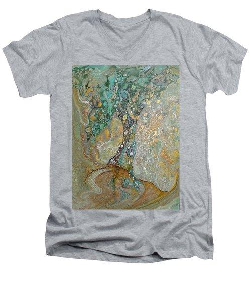 Gustav's Tree Men's V-Neck T-Shirt