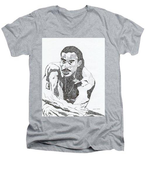 Guy Men's V-Neck T-Shirt