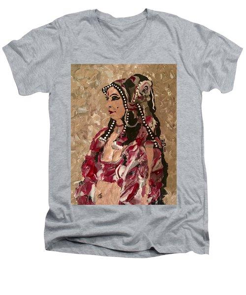 Gypsy Dancer Men's V-Neck T-Shirt