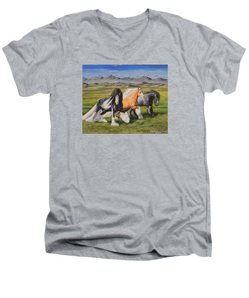 Gypsy Medley Men's V-Neck T-Shirt