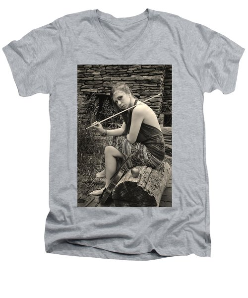 Gypsy Player Men's V-Neck T-Shirt