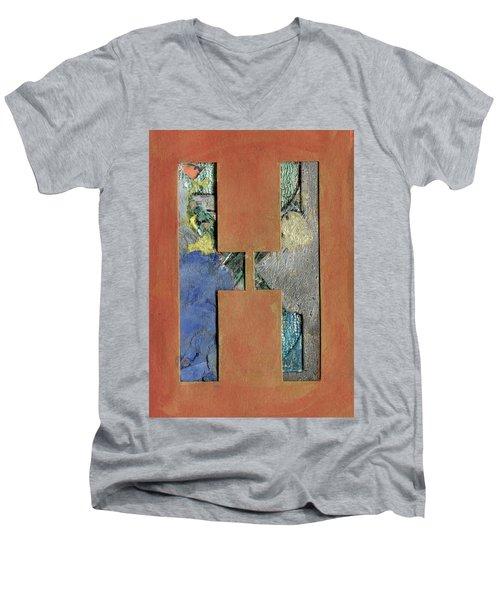 h Men's V-Neck T-Shirt