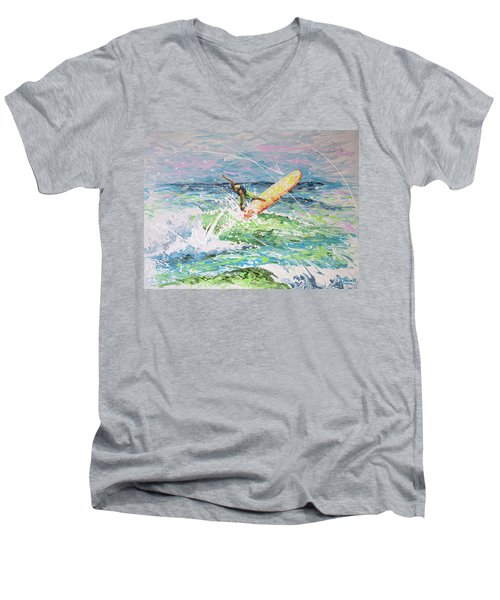 H2ooh Men's V-Neck T-Shirt