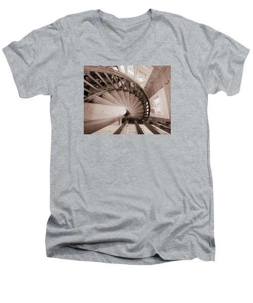 Men's V-Neck T-Shirt featuring the photograph Ha Ha Toes.... by Tammy Schneider