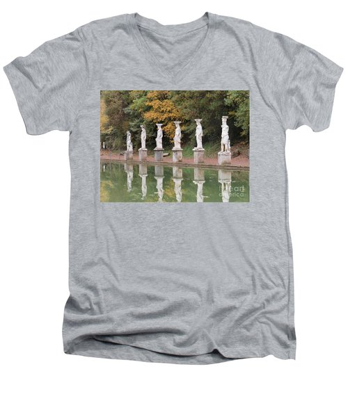 Hadrian's Villa 4 Men's V-Neck T-Shirt