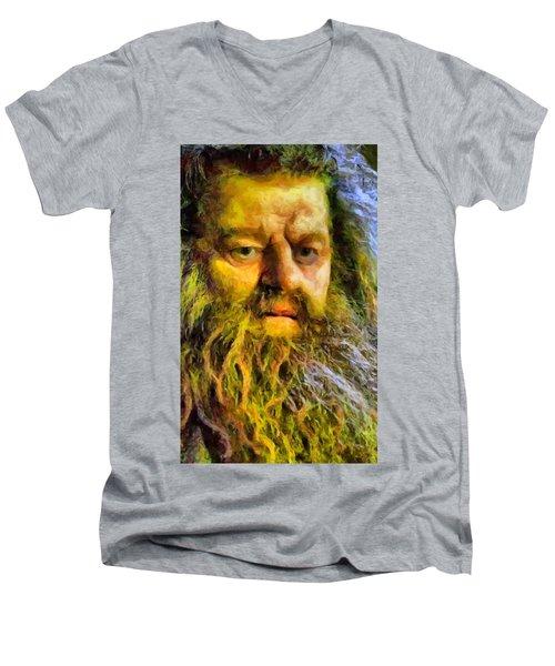 Hagrid Men's V-Neck T-Shirt