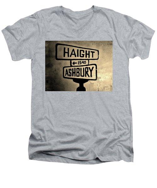 Haight Ashbury Men's V-Neck T-Shirt