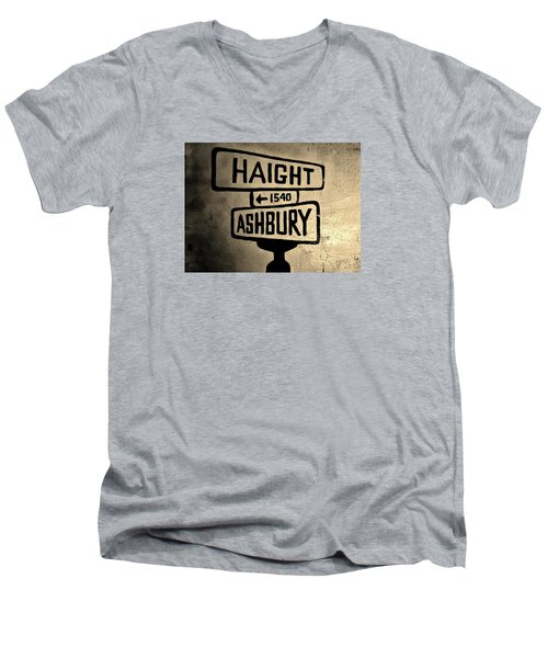 Haight Ashbury Men's V-Neck T-Shirt