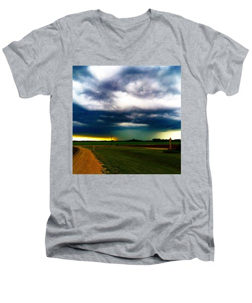 Hail Core Illuminated Men's V-Neck T-Shirt