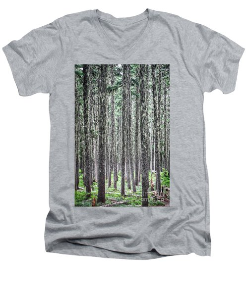 Hairy Forest Men's V-Neck T-Shirt