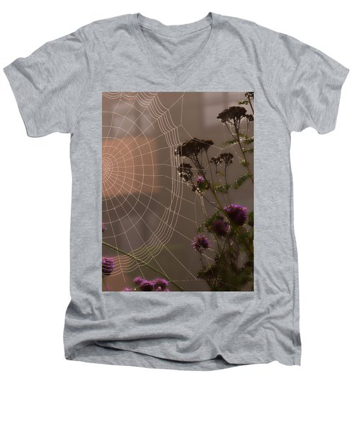 Half A Web Men's V-Neck T-Shirt