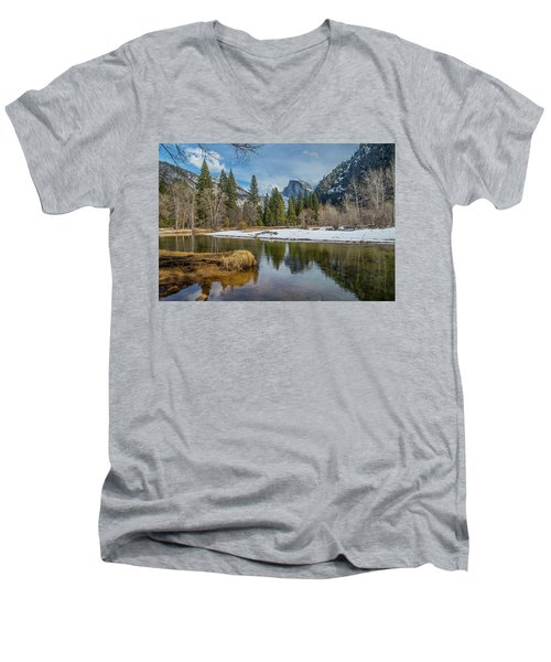 Half Dome Vista Men's V-Neck T-Shirt