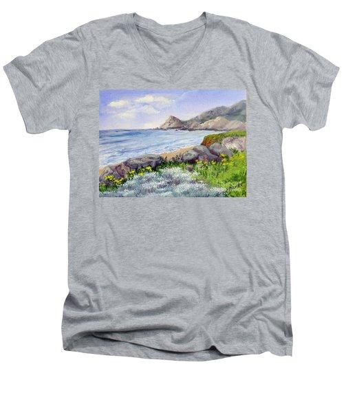 Half Moon Bay Men's V-Neck T-Shirt