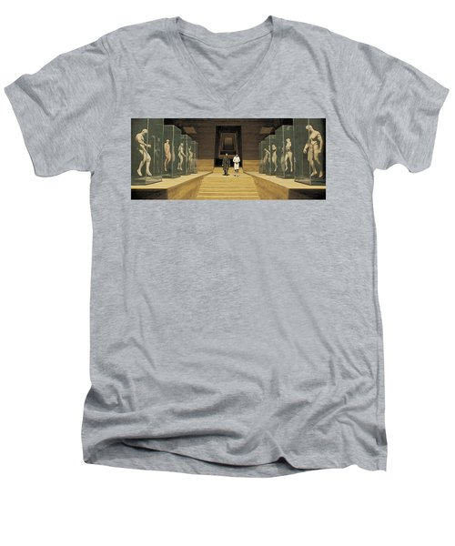 Hall Of Replicants Men's V-Neck T-Shirt