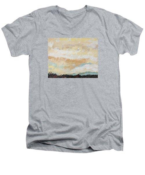 Hallowed Men's V-Neck T-Shirt by Nathan Rhoads