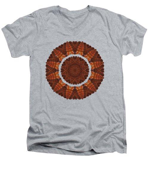 Halloween Kaleidoscope Sliver1-75 Men's V-Neck T-Shirt