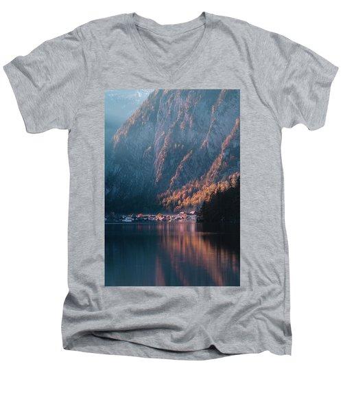Hallstatt Fall Men's V-Neck T-Shirt