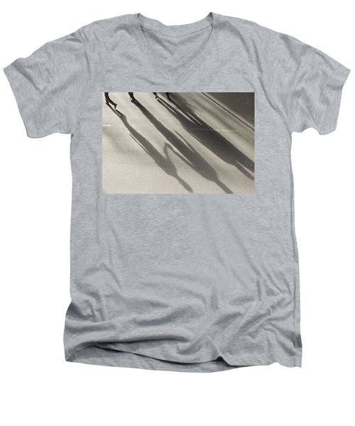 Hand In Hand Men's V-Neck T-Shirt