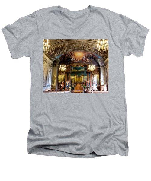 Handel's Organ Men's V-Neck T-Shirt