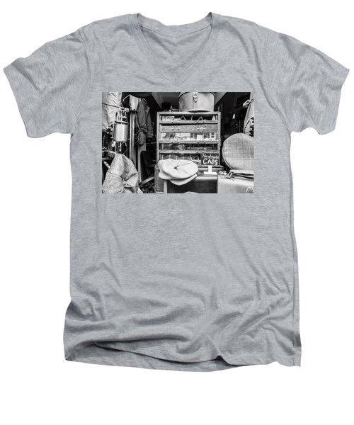 Handmade Caps Men's V-Neck T-Shirt