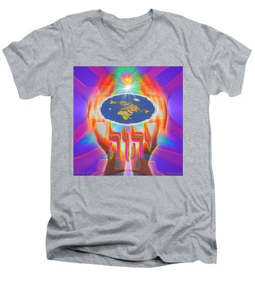 Hands Of Creation Men's V-Neck T-Shirt