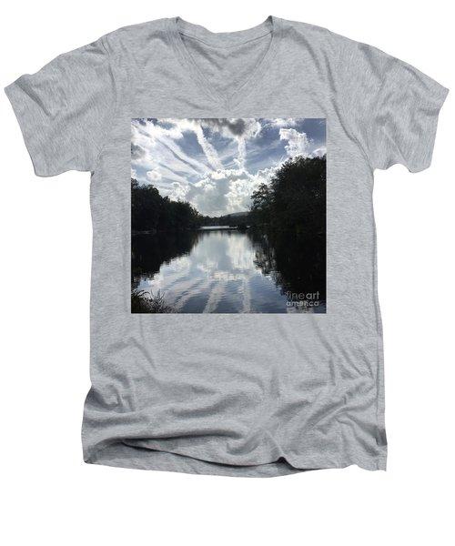 Handsome Cloud Men's V-Neck T-Shirt