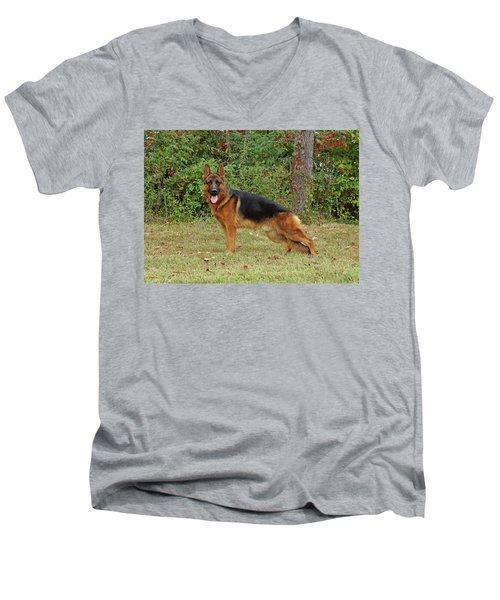 Handsome Rocco Men's V-Neck T-Shirt