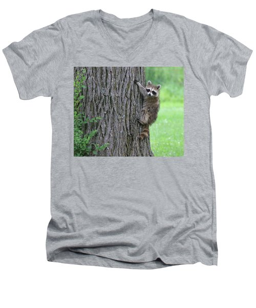 Hang On  Men's V-Neck T-Shirt