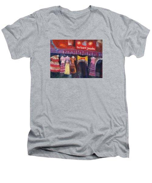 Hangin' In The Haight Men's V-Neck T-Shirt