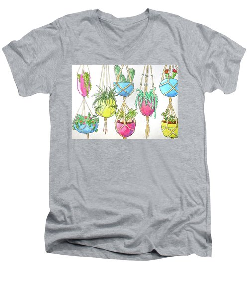 Hanging Garden Men's V-Neck T-Shirt