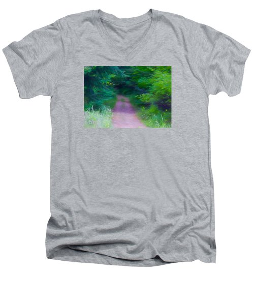 Men's V-Neck T-Shirt featuring the photograph Hansel And Grettel by Susan Crossman Buscho
