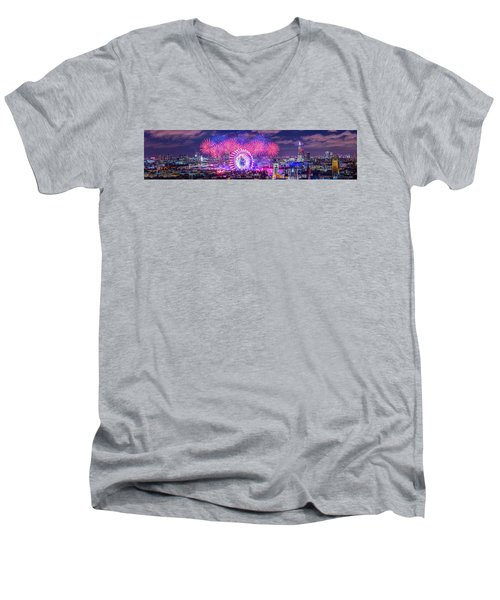 Happy 2018 Men's V-Neck T-Shirt