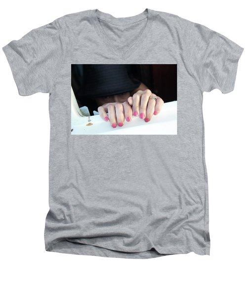 Happy Days Men's V-Neck T-Shirt