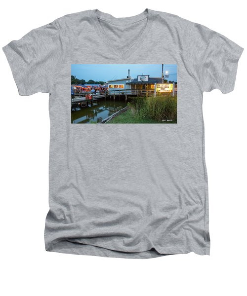 Happy Harbor Men's V-Neck T-Shirt