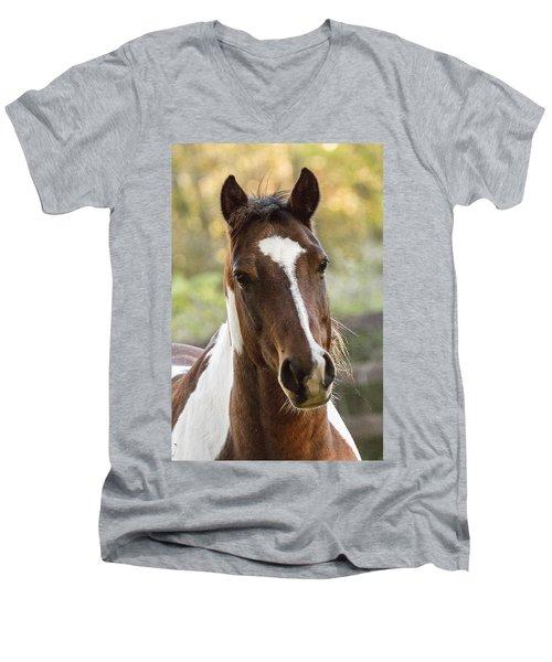 Happy Horse Men's V-Neck T-Shirt
