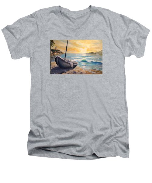 Happy Hour Men's V-Neck T-Shirt