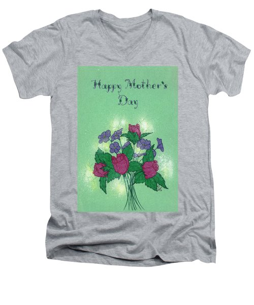 Happy Mother's Day  Men's V-Neck T-Shirt
