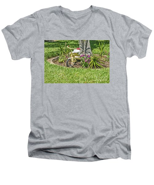 Happy Spring Men's V-Neck T-Shirt