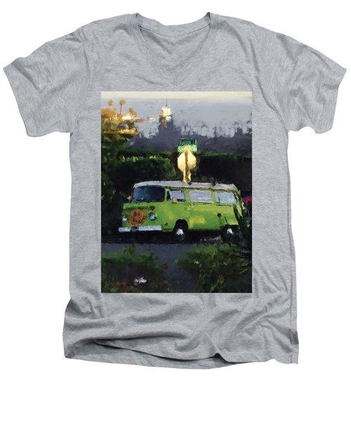 Happy Vw Men's V-Neck T-Shirt
