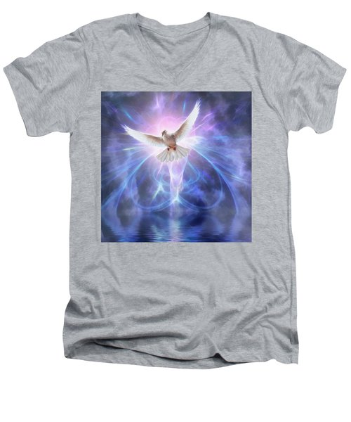 Harbinger II #fantasy #fantasyart Men's V-Neck T-Shirt
