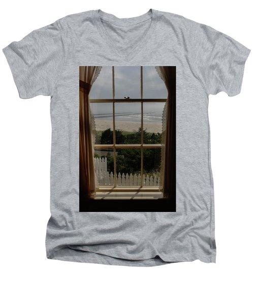 Harbor Entrance Men's V-Neck T-Shirt