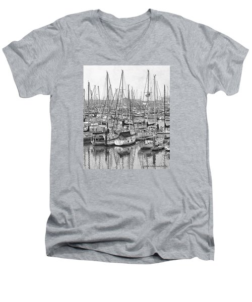 Harbor II Men's V-Neck T-Shirt